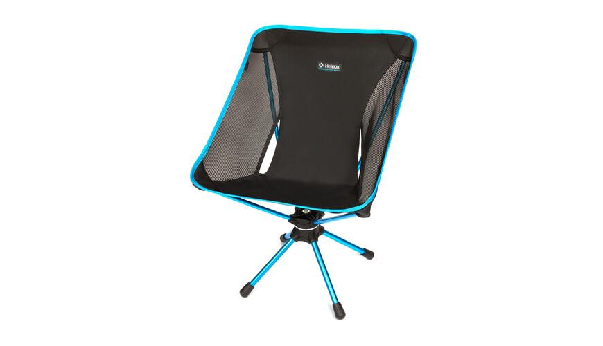 Helinox Swivel Chair - Siège camping - noir/turquoise